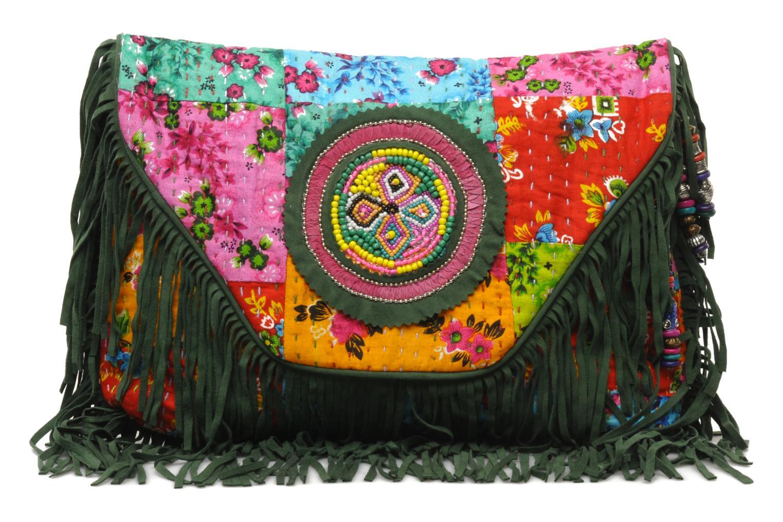 Clutch Antik Batik HIDA WALLET Groen detail