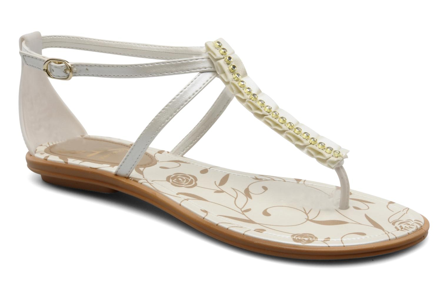 Sandalen Grendha Daisy ad f Wit detail