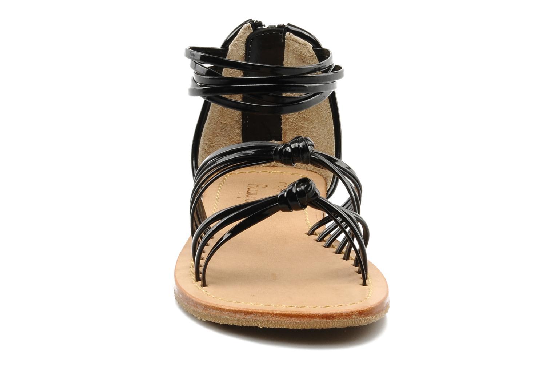 Sandales et nu-pieds Mellow Yellow Lolipop Noir vue portées chaussures