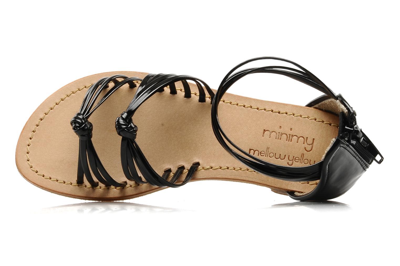 Sandales et nu-pieds Mellow Yellow Lolipop Noir vue gauche