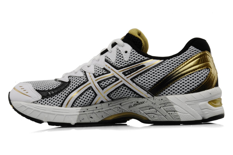 Chaussures de sport Asics Gel Virage 6 Blanc vue face
