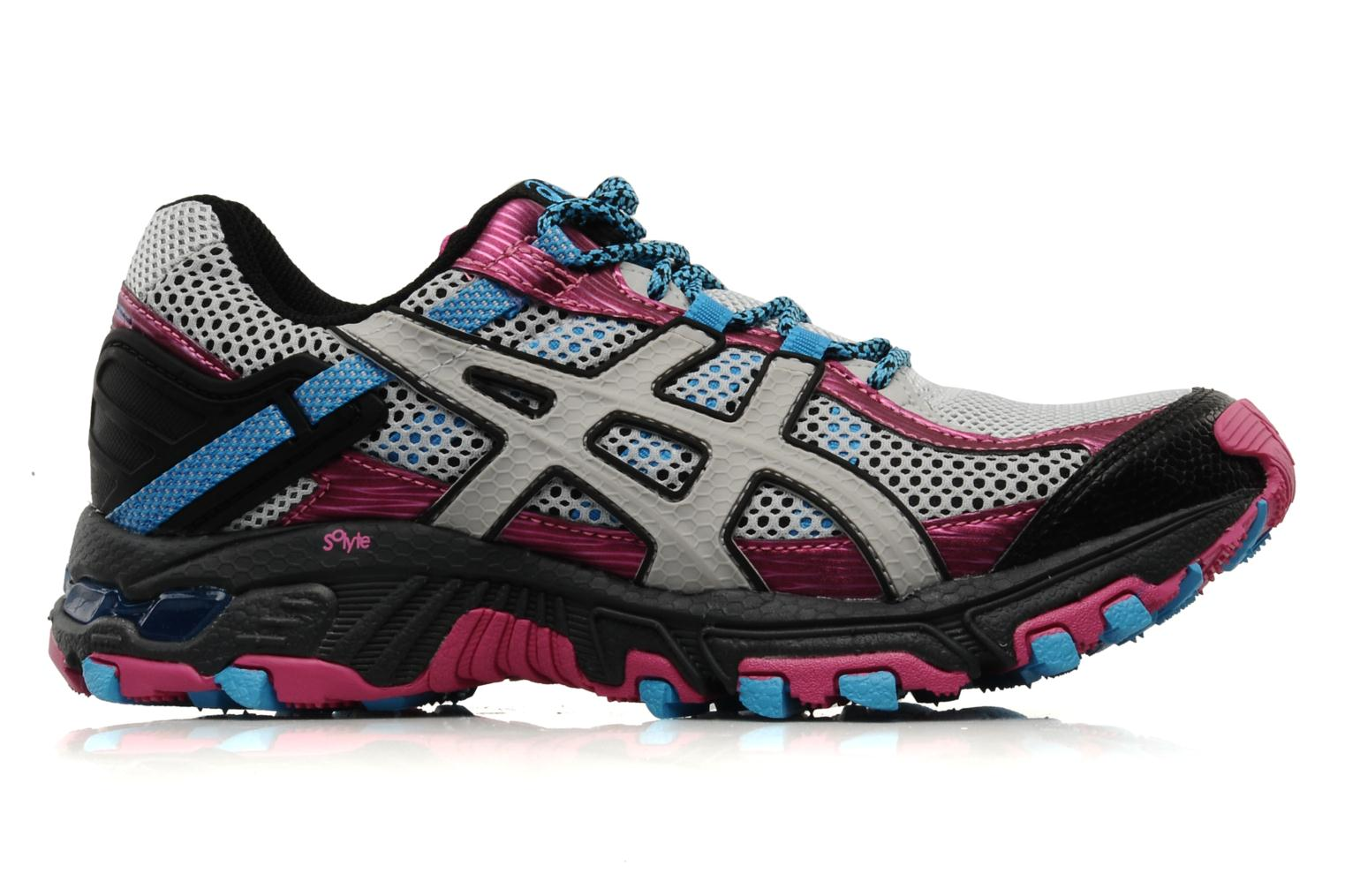 Lady Gel Trabuco 14 Grey/Black/Pink