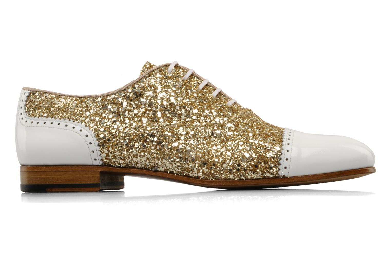 Chaussures à lacets Georgia Rose Pantika Or et bronze vue derrière
