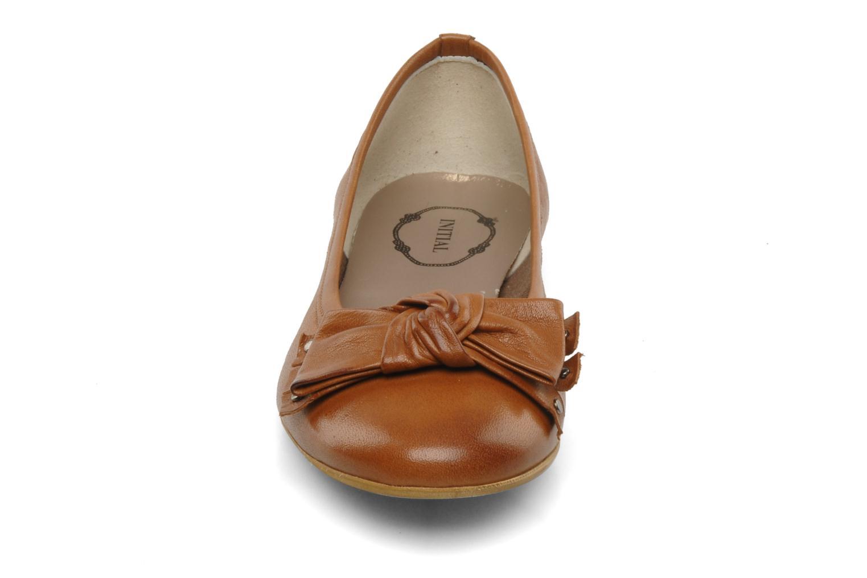 Ballerines Addict-Initial Almata Marron vue portées chaussures