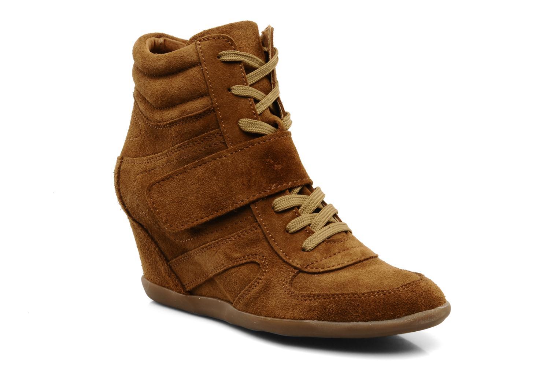 Bottines et boots Addict-Initial Alida Marron vue détail/paire