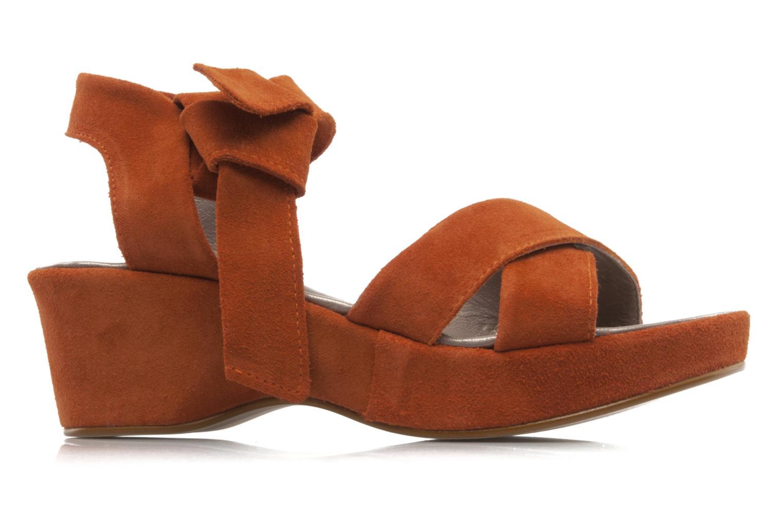 Sandali e scarpe aperte Addict-Initial Ariana Arancione immagine posteriore
