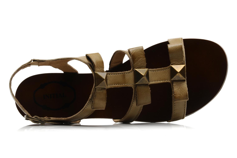Sandales et nu-pieds Addict-Initial Adene Beige vue gauche
