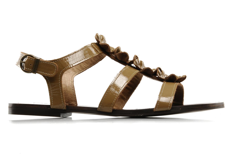 Sandalen Addict-Initial Agustina braun ansicht von hinten