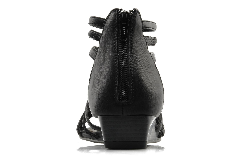 Sandales et nu-pieds I Love Shoes Supla Noir vue droite