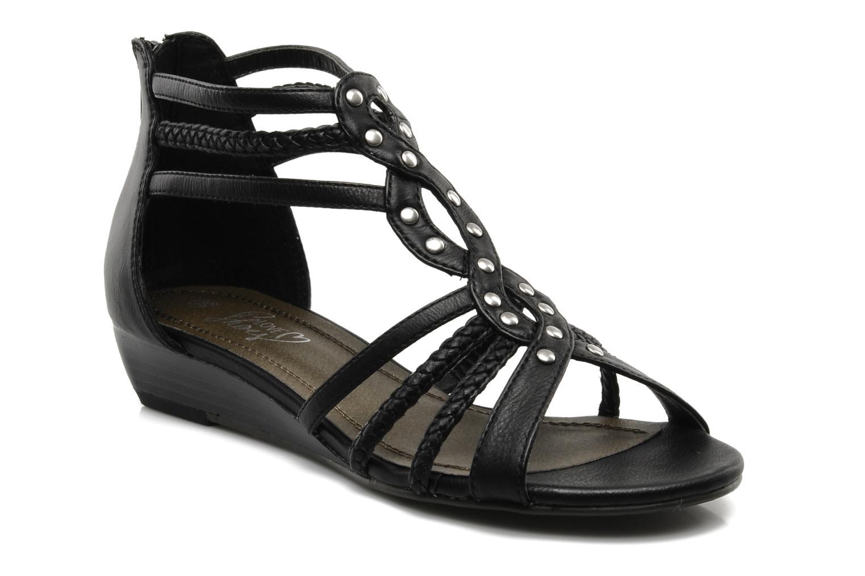Sandales et nu-pieds I Love Shoes Supla Noir vue détail/paire