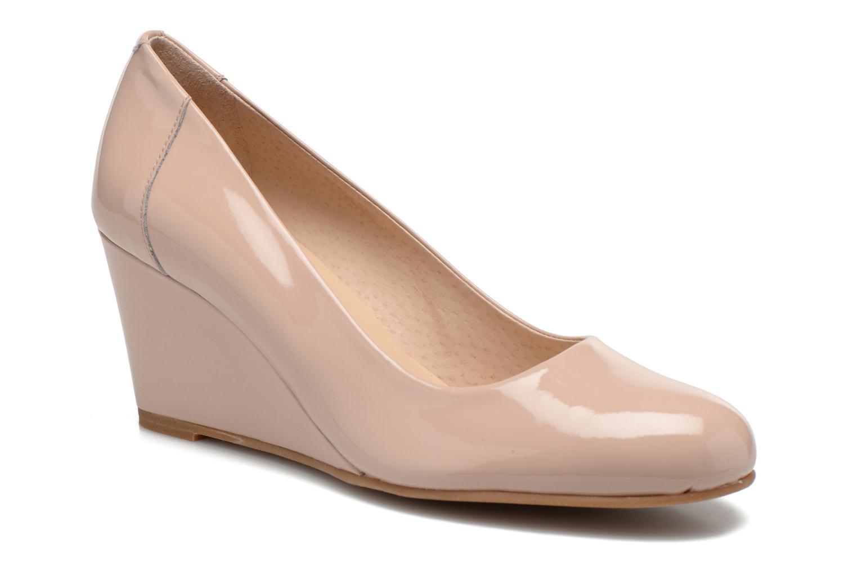 Høje hæle Georgia Rose Lorena Beige detaljeret billede af skoene