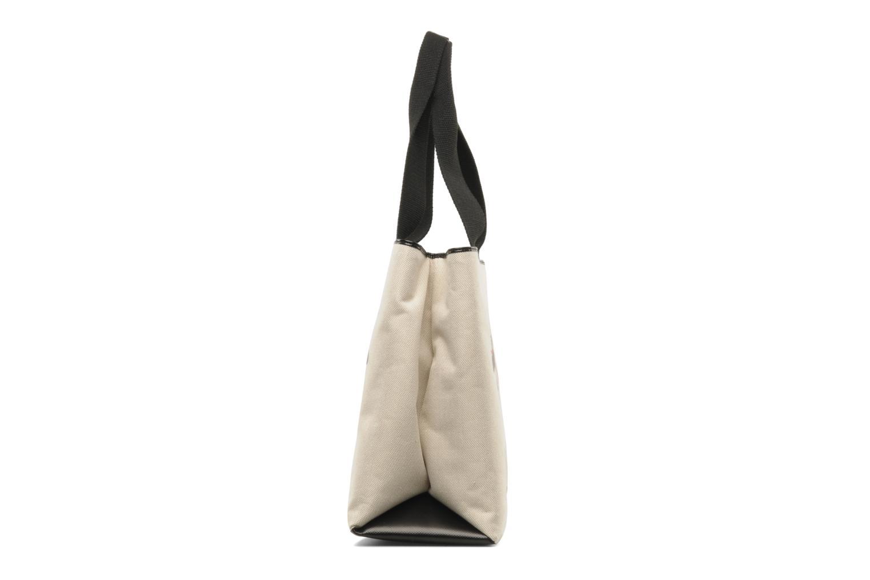Handbags Love Moschino MOOOU BAG CABAS Beige model view