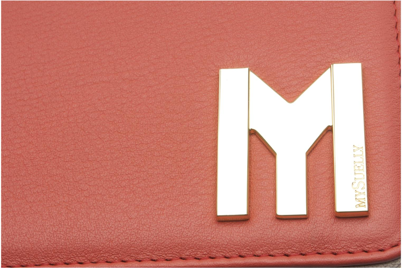 Portemonnaies & Clutches MySuelly LOU PAD (IPAD) rosa ansicht von links