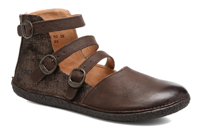 Grandes descuentos últimos zapatos Kickers HONORINE (Marrón) - Bailarinas Descuento