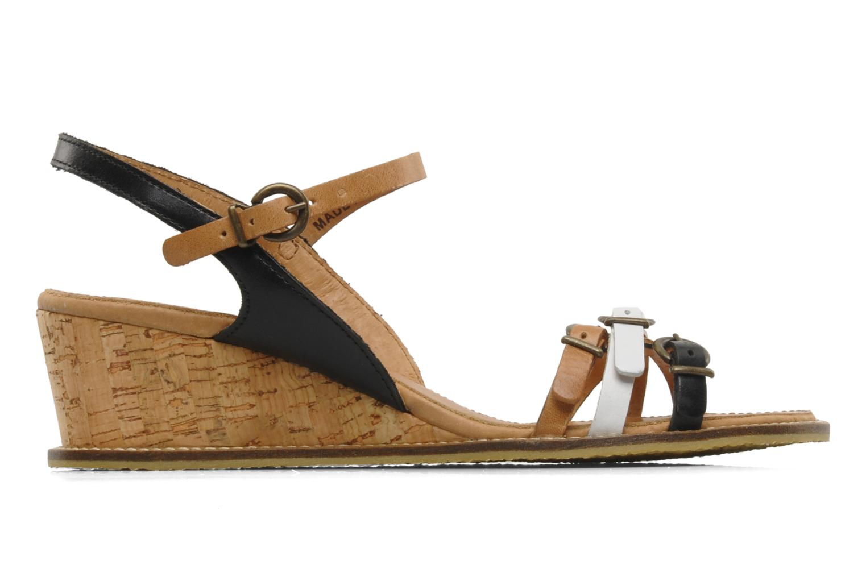 Sandales et nu-pieds Kickers SPRING 2 Noir vue derrière