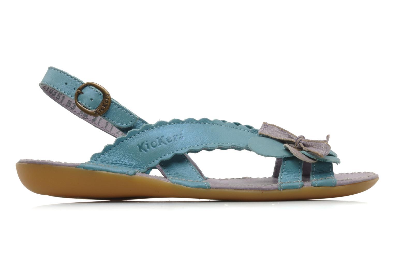 Sandalen Kickers EXTRAFIN Blauw achterkant