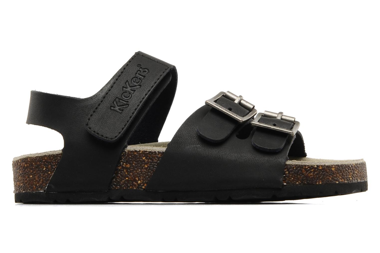 Sandales et nu-pieds Kickers MAGINATION Noir vue derrière
