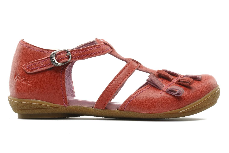 Sandales et nu-pieds Kickers CYCLINE 2 Rouge vue derrière