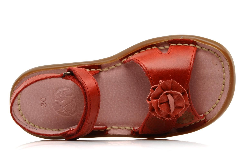 Sandalen Kickers MARJO Rood links