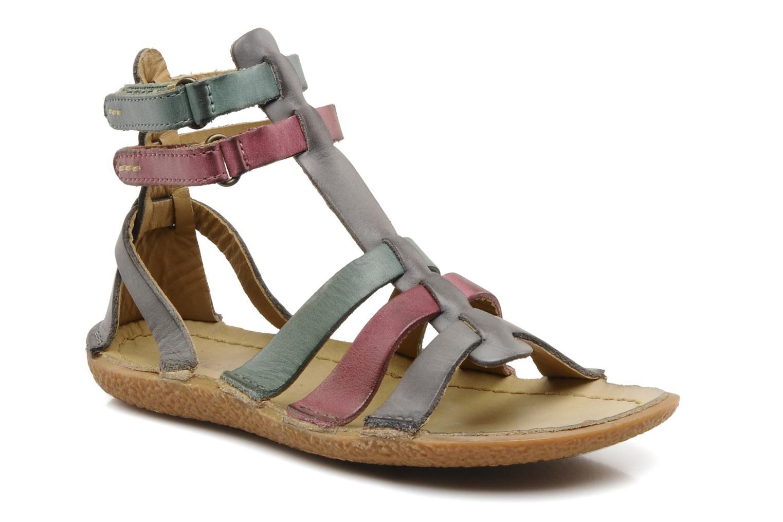 Sandales et nu-pieds Kickers PEPLUM V Gris vue détail/paire