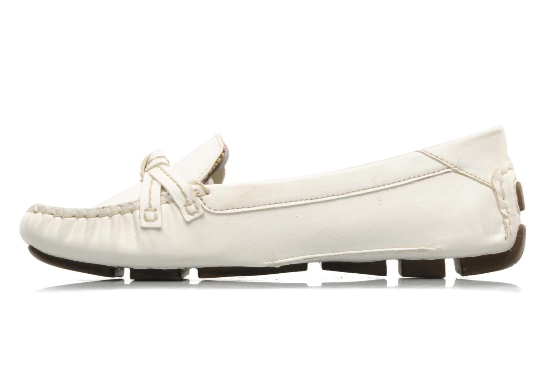 Mocassini Esprit Barabara Loafer Bianco immagine frontale