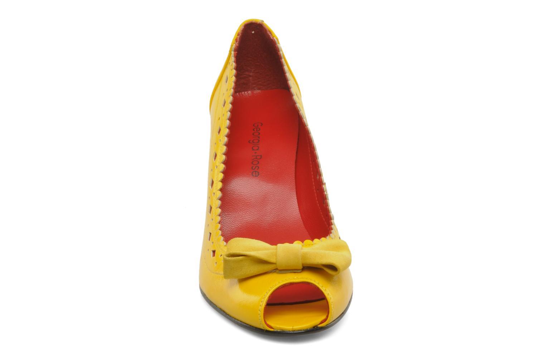 Escarpins Georgia Rose Gwen Jaune vue portées chaussures