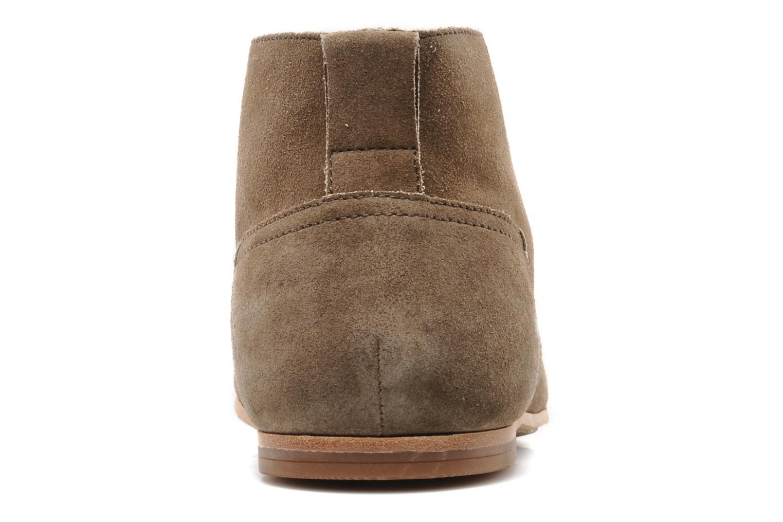 Chaussures à lacets Geox U progress A Beige vue droite