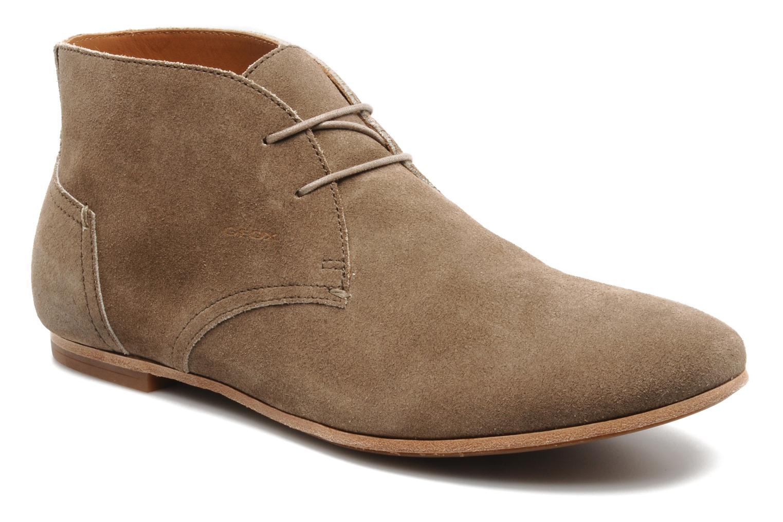 Chaussures à lacets Geox U progress A Beige vue détail/paire