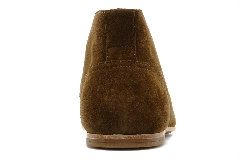 Chaussures à lacets Geox U progress A Marron vue droite