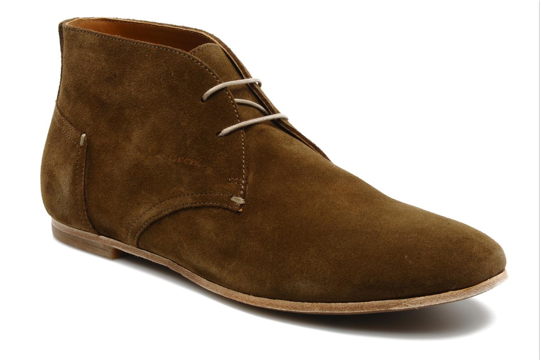 Chaussures à lacets Geox U progress A Marron vue détail/paire