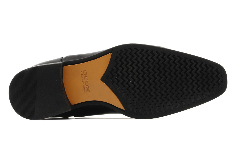 Chaussures à lacets Geox U hight life Q Noir vue haut