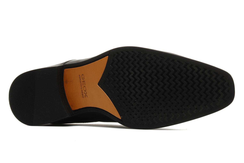 Chaussures à lacets Geox U hight life T Noir vue haut