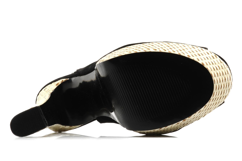 Sandalen I Love Shoes Leia schwarz ansicht von oben