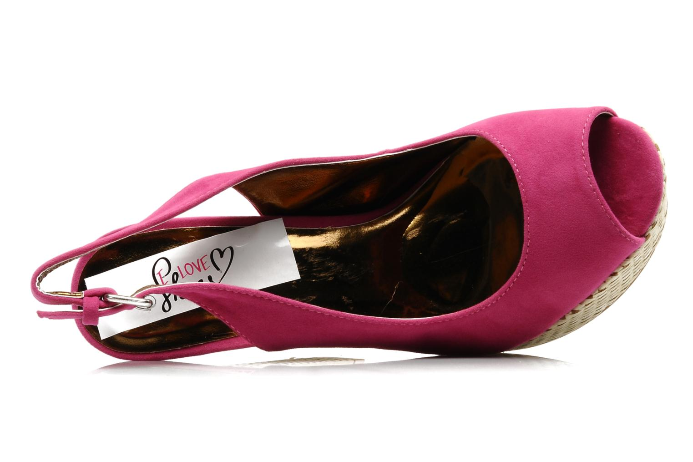 Sandalen I Love Shoes Leia rosa ansicht von links