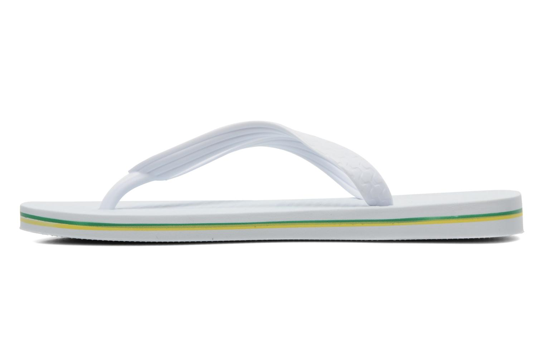 Flip flops Ipanema Classica Brasil II f White front view