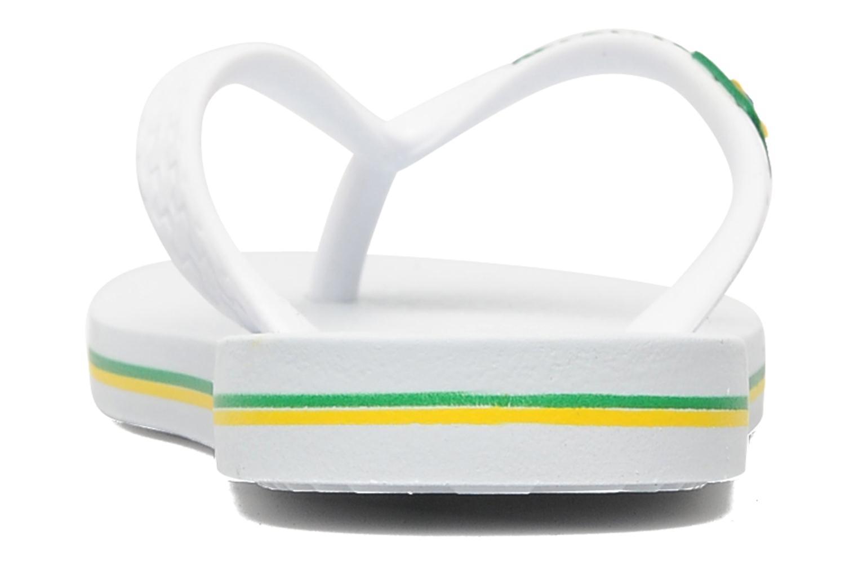 Tongs Ipanema Classic brasil II k Blanc vue droite