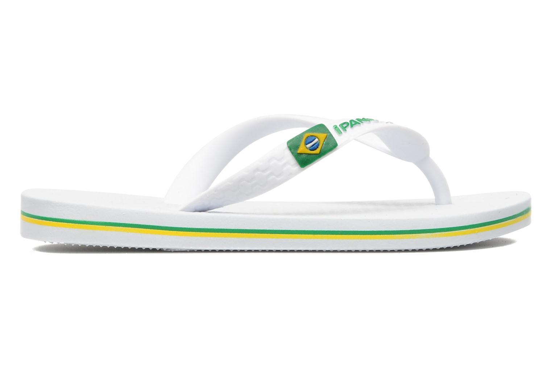 Tongs Ipanema Classic brasil II k Blanc vue derrière