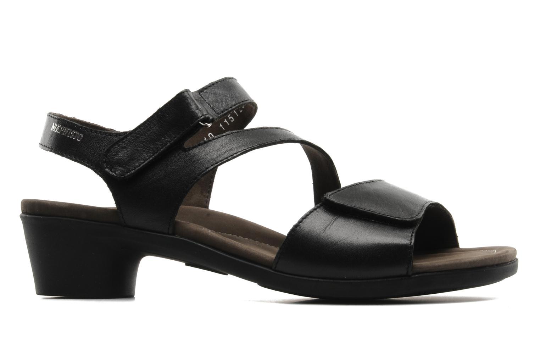 Sandales et nu-pieds Mephisto Pricila Noir vue derrière