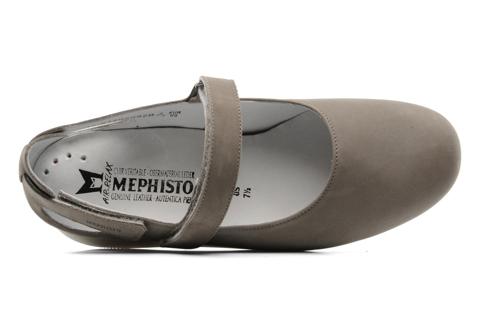 Ballerines Mephisto Betty Gris vue gauche