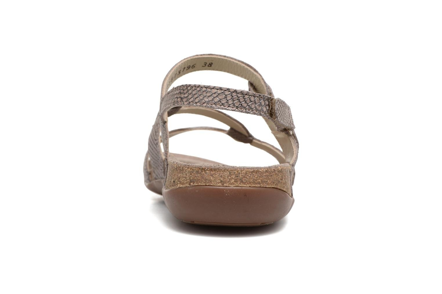 Sandals Mephisto Adelie Beige view from the right