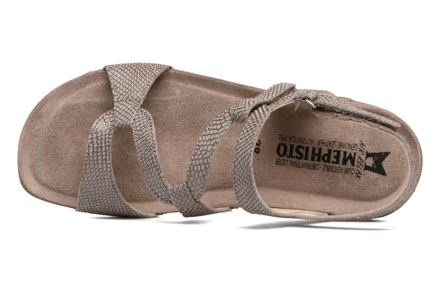 Sandals Mephisto Adelie Beige view from the left