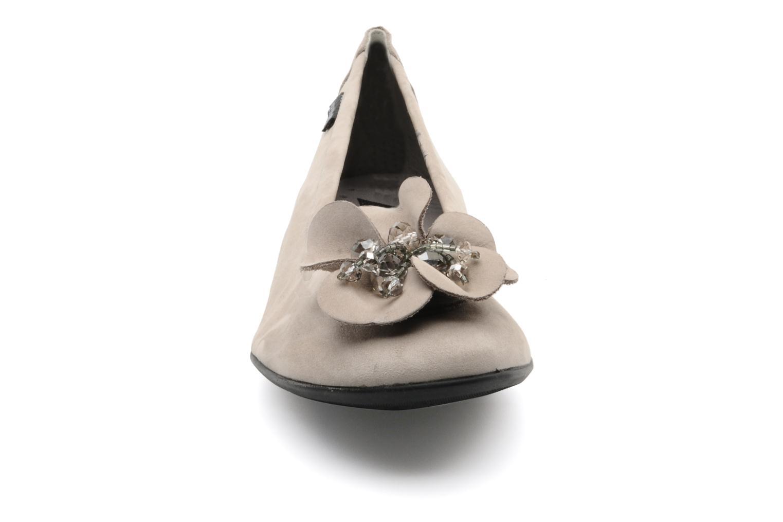 Ballerines Mephisto Acarie cruise Beige vue portées chaussures