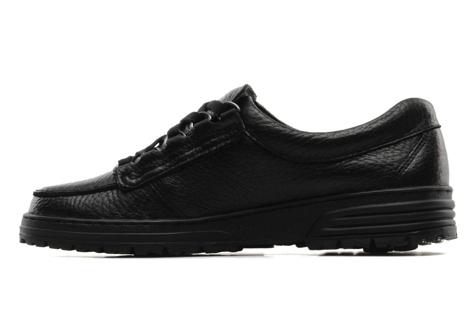 Lace-up shoes Mephisto Wanda Black front view