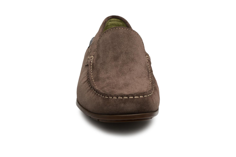 Mocassins Mephisto Algoras Gris vue portées chaussures