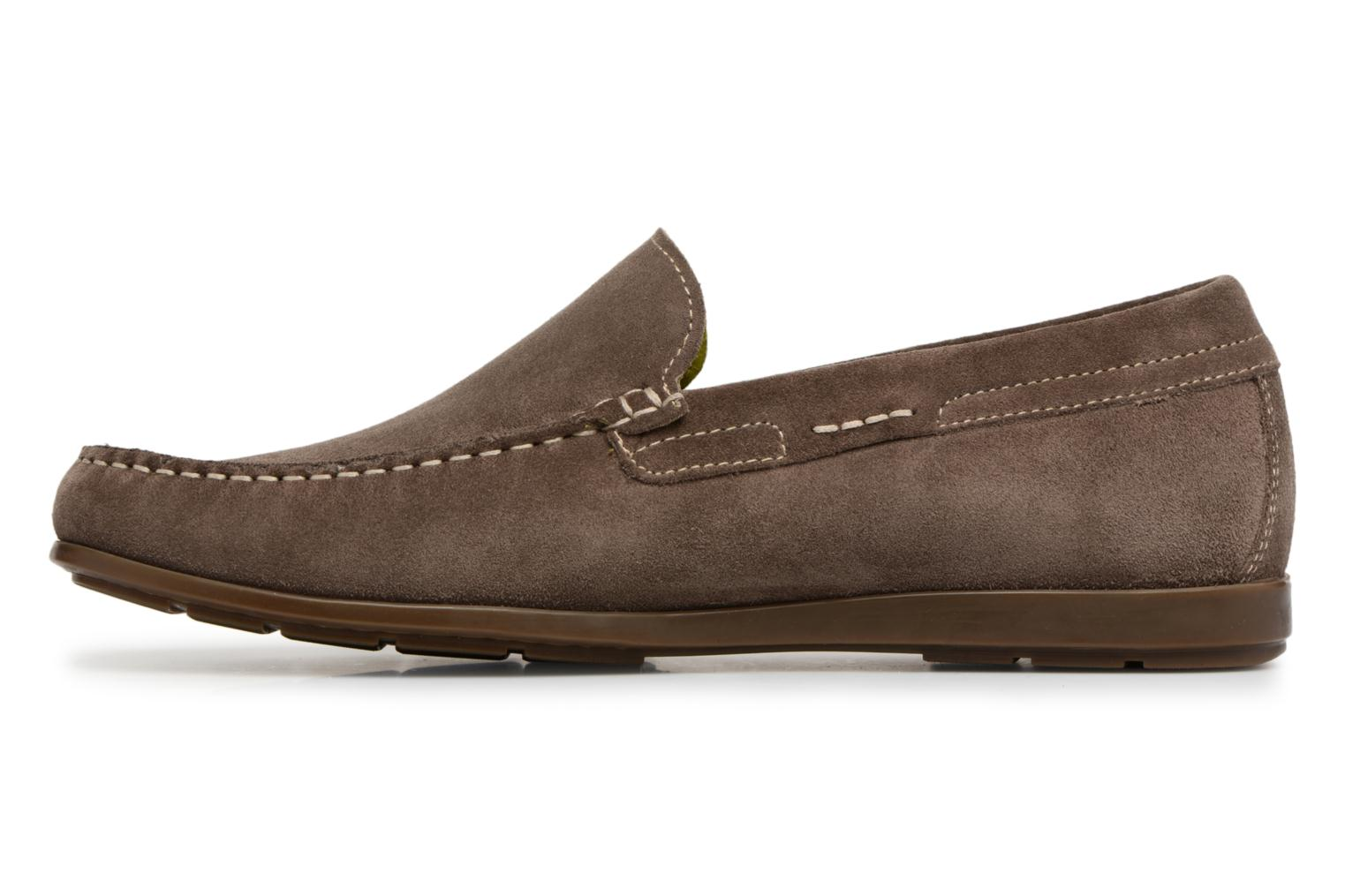 Loafers Mephisto Algoras Grey front view