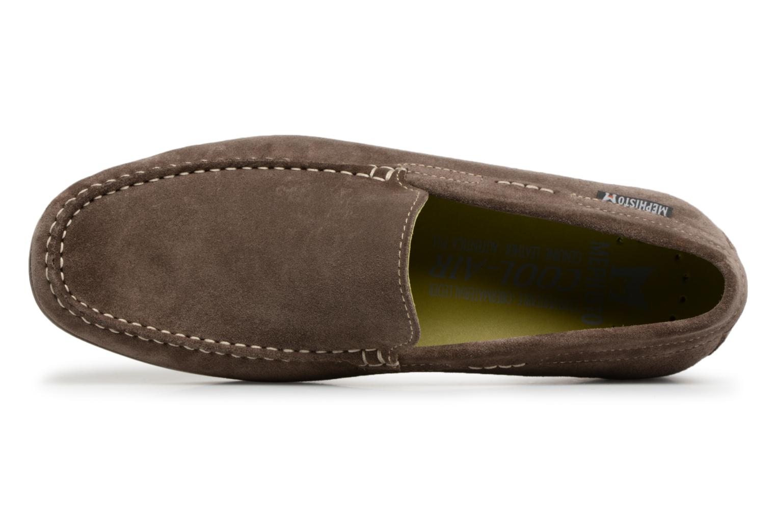 Loafers Mephisto Algoras Grey view from the left