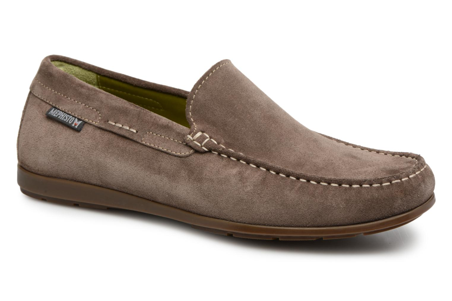 Loafers Mephisto Algoras Grey detailed view/ Pair view