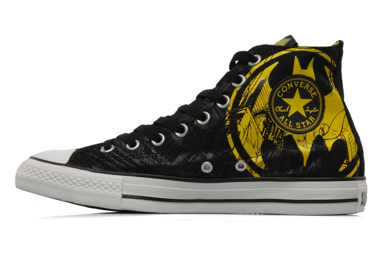 Sneaker Converse Chuck Taylor All Star DC Batman Cape Hi M schwarz ansicht von vorne