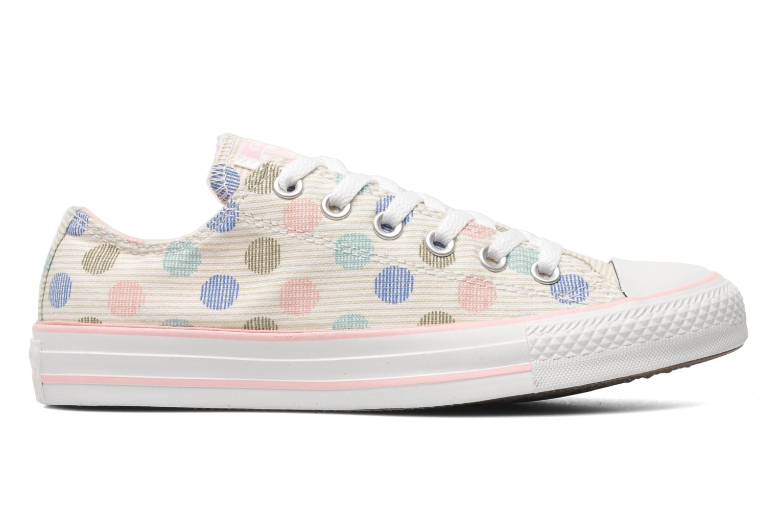 Trainers Converse Chuck Taylor All Star Polka Dot Ox W Multicolor back view
