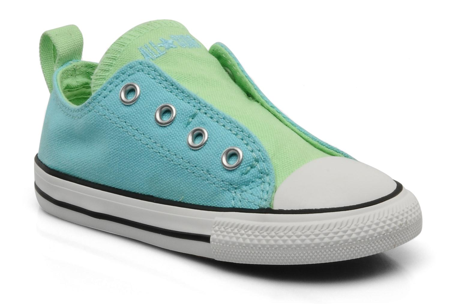 Chuck Taylor All Star Simple Slip Ox K Turquoise-Vert